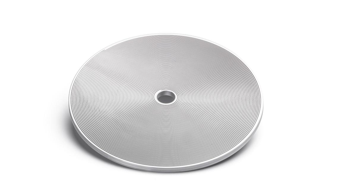 Ø 240 – Spiral surface