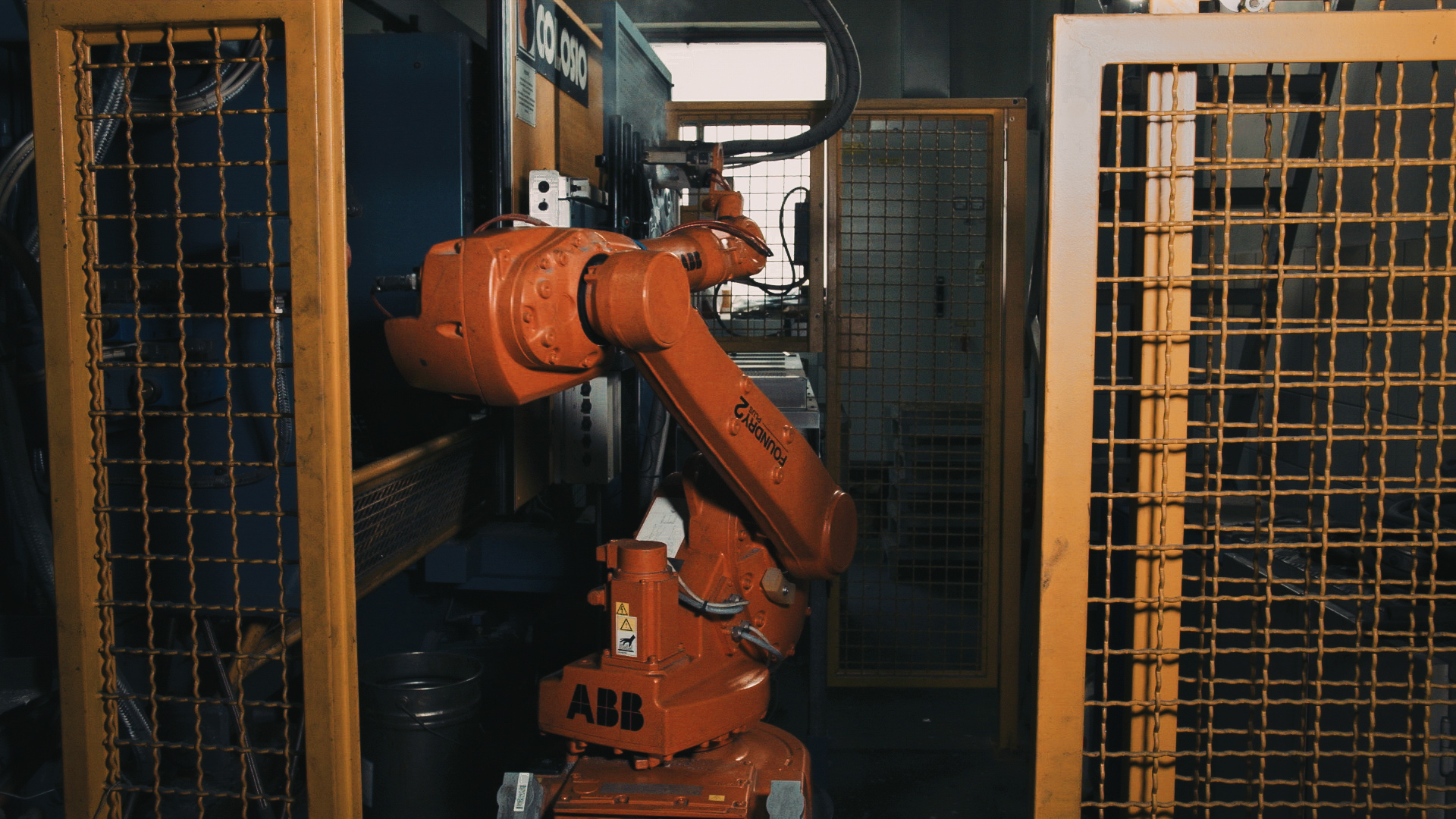 ABB robot – Foundry edition